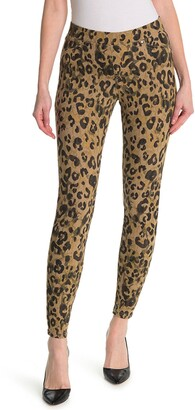 Hue Spotted Printed Jeans Style Leggings