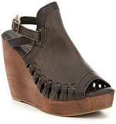 Volatile Carry Slingback Wedges