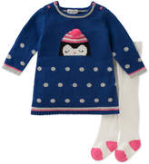 Absorba Girls' Sweater & Tight Set