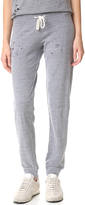 Monrow Heather Vintage Sweats with Holes