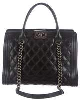 Chanel Boy Shopping Tote