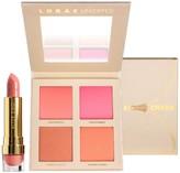 LORAC Unzipped Cheek Palette with Lipstick Set