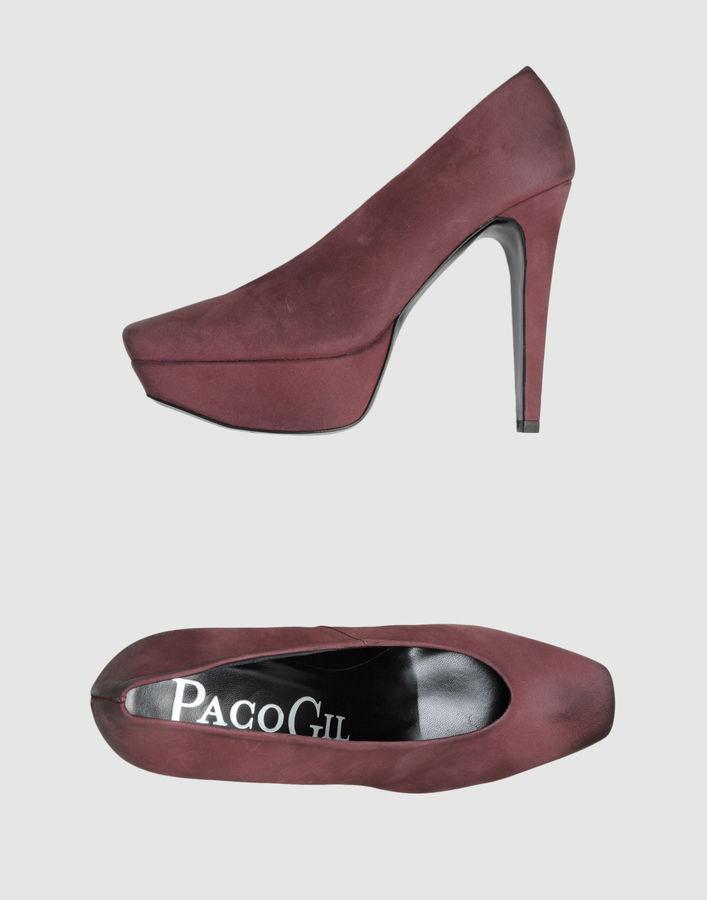 Paco Gil Platform pumps