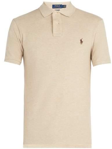 Polo Ralph Lauren Slim Fit Cotton Polo Shirt - Mens - Beige