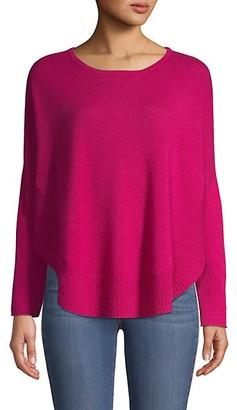 Qi Curved Hem Cashmere Sweater