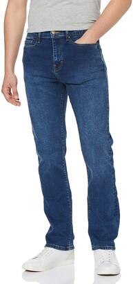MERAKI Mens Stretch Straight Jeans