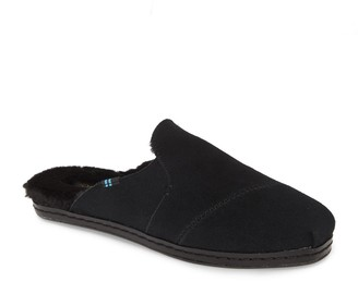 Toms Nova Faux Fur Lined Slip-On Mule