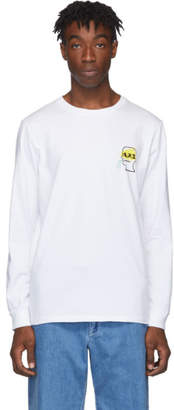 A.P.C. White Brain Dead Edition Molly Long Sleeve T-Shirt