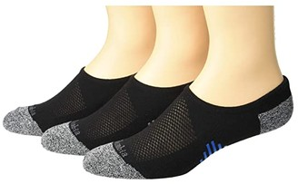 Columbia Accent Stripe Eclipse No Show (Black) Men's No Show Socks Shoes