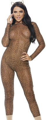 Forplay Women's Mesh Jumpsuit