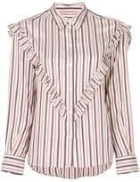 Masscob ruffle trim blouse