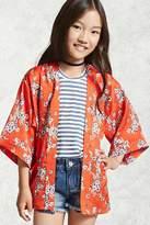 Forever 21 FOREVER 21+ Girls Floral Kimono (Kids)
