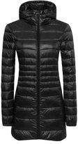 Orolay Women's Winter Outwear Light Coat Hooded Down Jacket