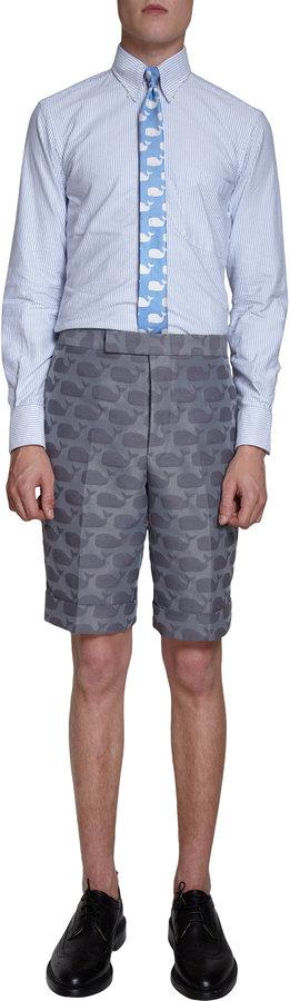 Thom Browne Jacquard Shorts