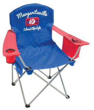 "Margaritaville Island Lifestyle 1977"" Quad Reclining Beach Chair Rio Brands"