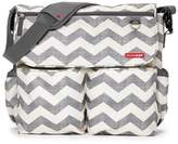 Skip Hop SKIP*HOP® Dash Signature Chevron Diaper Bag in Grey