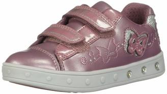 Geox Girl's Skylin Embellished Light-Up Sneaker Shoe
