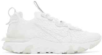 Nike White React Vision Sneakers