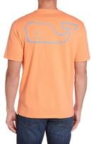Vineyard Vines Men's Vintage Whale Pocket T-Shirt