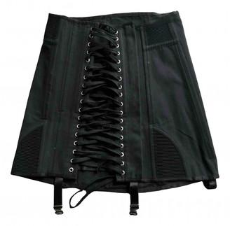 Orseund Iris Black Cotton Skirts