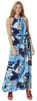 F&F Palm Leaf Print Maxi Dress, Women's