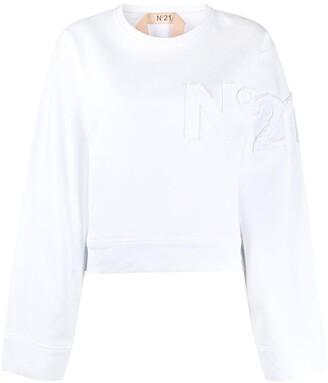 No.21 Logo-Detail Sweatshirt