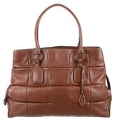 Tod's Quilted Tote Bag