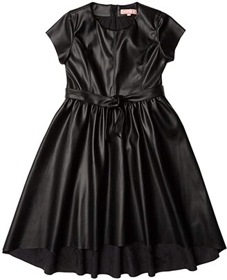 BCBG Girls Pullover High-Low Dress (Big Kids) (Black) Girl's Dress