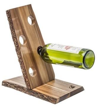 Brilliant Organic 4 Bottle Tabletop Wine Bottle Rack