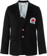 MAISON KITSUNÉ corduroy blazer - men - Cotton/Cupro - M