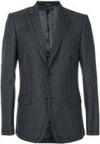 Alexander McQueen striped seam blazer