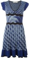 Mary Katrantzou 'Paulisto' knitted dress - women - Viscose/Silk/Polyester - M