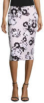 Lord & Taylor Petite Floral Pencil Skirt