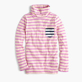 J.Crew Girls' striped tissue turtleneck T-shirt