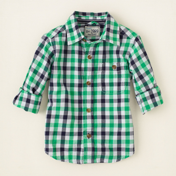 Children's Place Checked shirt