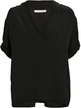 XiRENA Avery Popover Short Sleeve Top