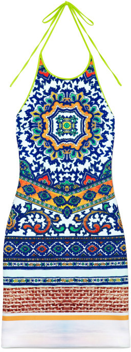 Clover Canyon Surf Tapestry Dress