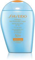 Shiseido Women's Ultimate Sun Protection Lotion WetForce for Sensitive Skin & Children Broad Spectrum SPF 50+