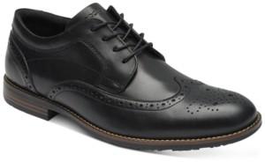Rockport Men's Dustyn Wingtip Waterproof Oxfords Men's Shoes