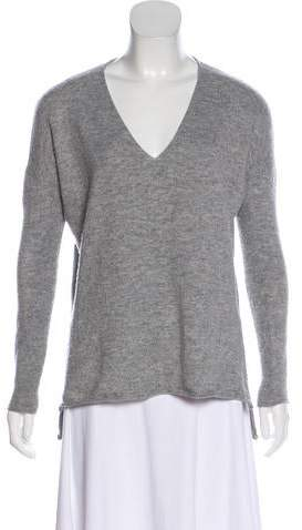 Barbara Bui V-Neck Wool Sweater