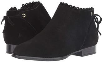 Jack Rogers Charlotte Suede - Waterproof (Black Suede) Women's Shoes