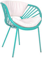 David Francis Furniture Aura Chair - Turquoise