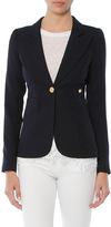 Smythe Wool One Button Duchess Blazer