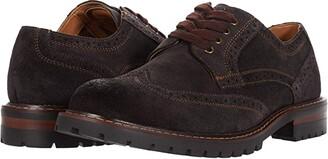 Steve Madden Kommber Oxford (Brown Suede) Men's Shoes