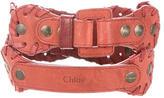 Chloé Leather Waist Belt w/ Tags