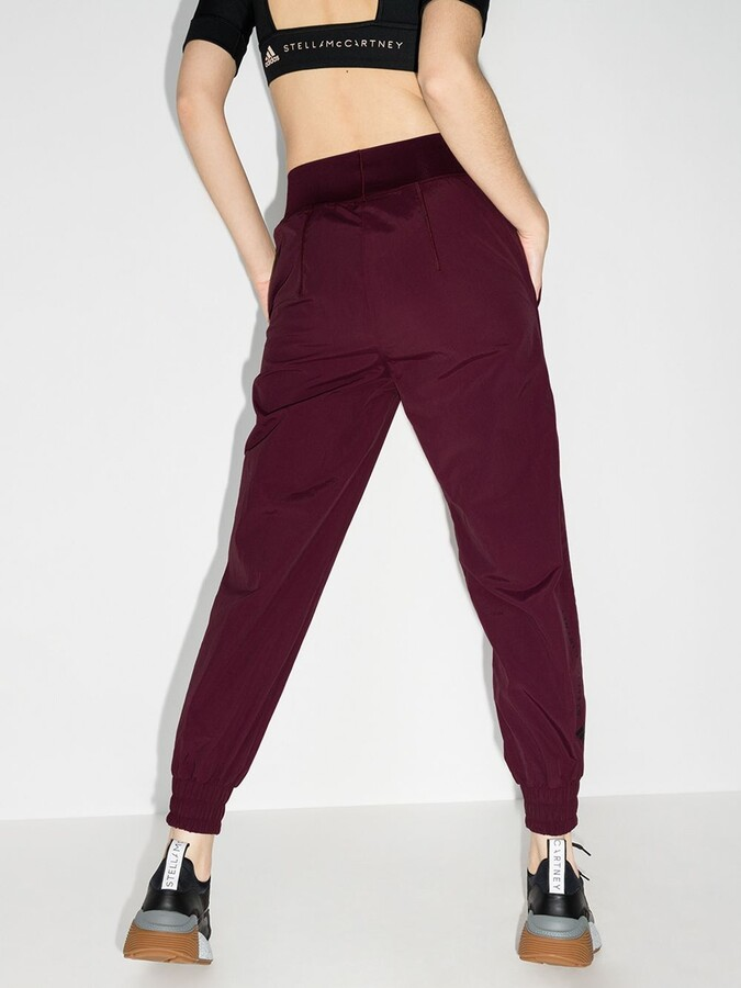 Thumbnail for your product : adidas by Stella McCartney Purple College High Waist Track Pants