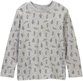 Joe Fresh Long Sleeve Graphic Tee (Toddler & Little Boys)