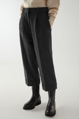 Cos Wool Mix Pleated Pants