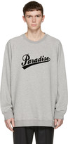 Marc Jacobs Grey 'Paradise' Pullover