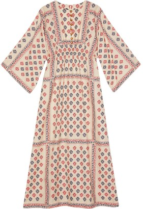 Gucci Geometric Pattern Kaftan Dress